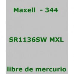 PILA MAXELL       SR1136SW