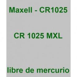 PILA MAXELL       CR1025-B1