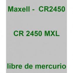 PILA MAXELL       CR2450-B1