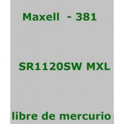 PILA MAXELL       SR1120SW