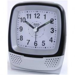 Despertador Silencioso ELCO EA47-PLATA