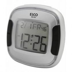 Despertador digital ELCO ED93-PLATA